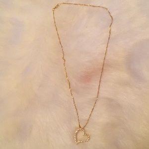 Jewelry - Ⓜ️Heart pendant necklace